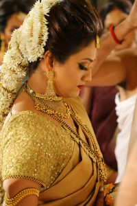 South Indian bridal makeup in mumbai